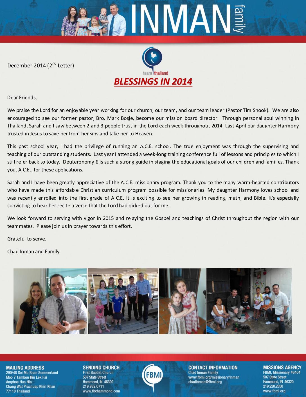 thumbnail of Chad Inman December 2014 Prayer Letter-2