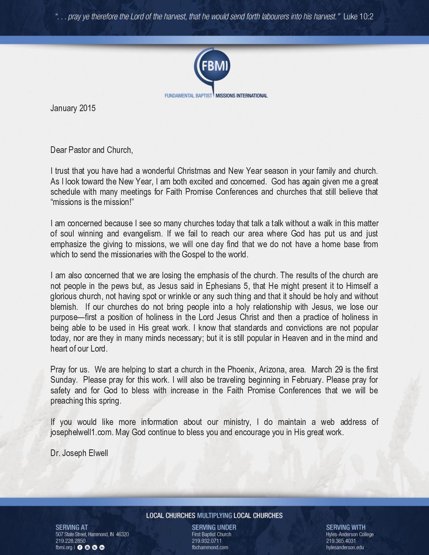 thumbnail of Joseph Elwell January 2015 Prayer Letter