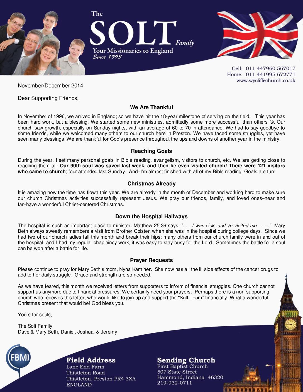 thumbnail of Solt Nov-Dec 2014 Prayer Letter
