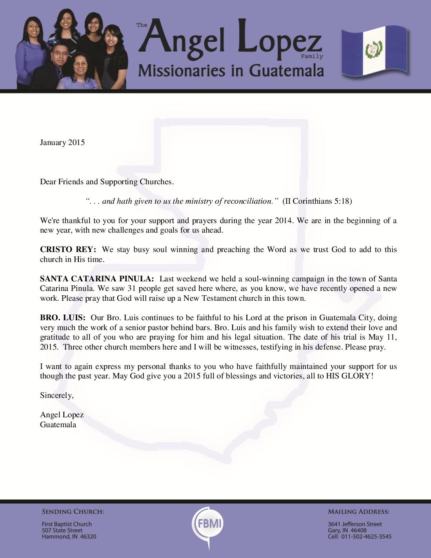 thumbnail of Angel Lopez January 2015 Prayer Letter