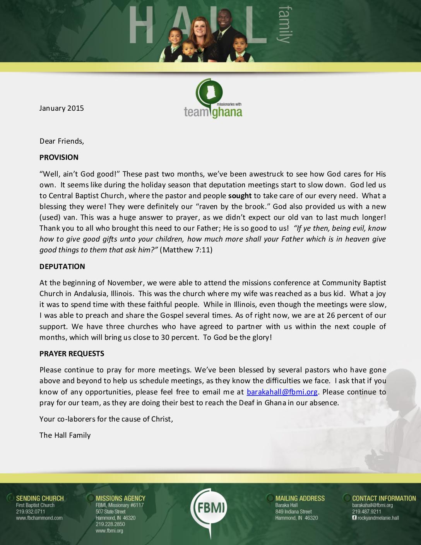 thumbnail of Baraka Hall January 2015 Prayer Letter
