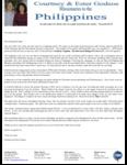 Courtney Godsoe Prayer Letter: Blessings of 2014