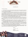 Ron Back Prayer Letter:  Soul Winning in Pajamas