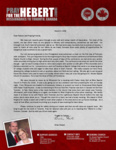 Brian Hebert Prayer Letter:  Through Blizzard and Snow