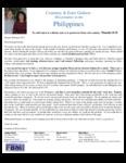 Courtney Godsoe Prayer Letter:  Church Property