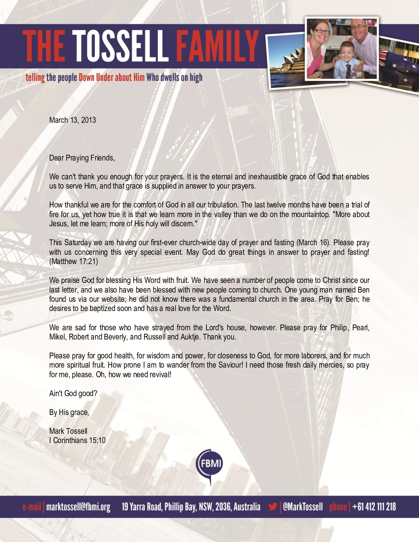 thumbnail of Mark Tossell March 2013 Prayer Letter