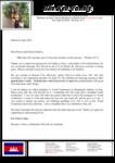 Kounaro Keo Prayer Letter:  Back in the States for Furlough