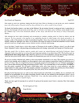 Sergio Robles Prayer Letter:  Nearing the End of Our Furlough