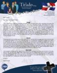 Robert Tirado Prayer Letter:  Great Church Anniversary Services