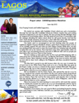 Dennis Lagos Prayer Letter:  CANADeputation Marathon