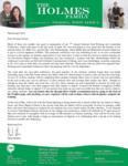 Mark Holmes Prayer Letter:  Conference and Internships