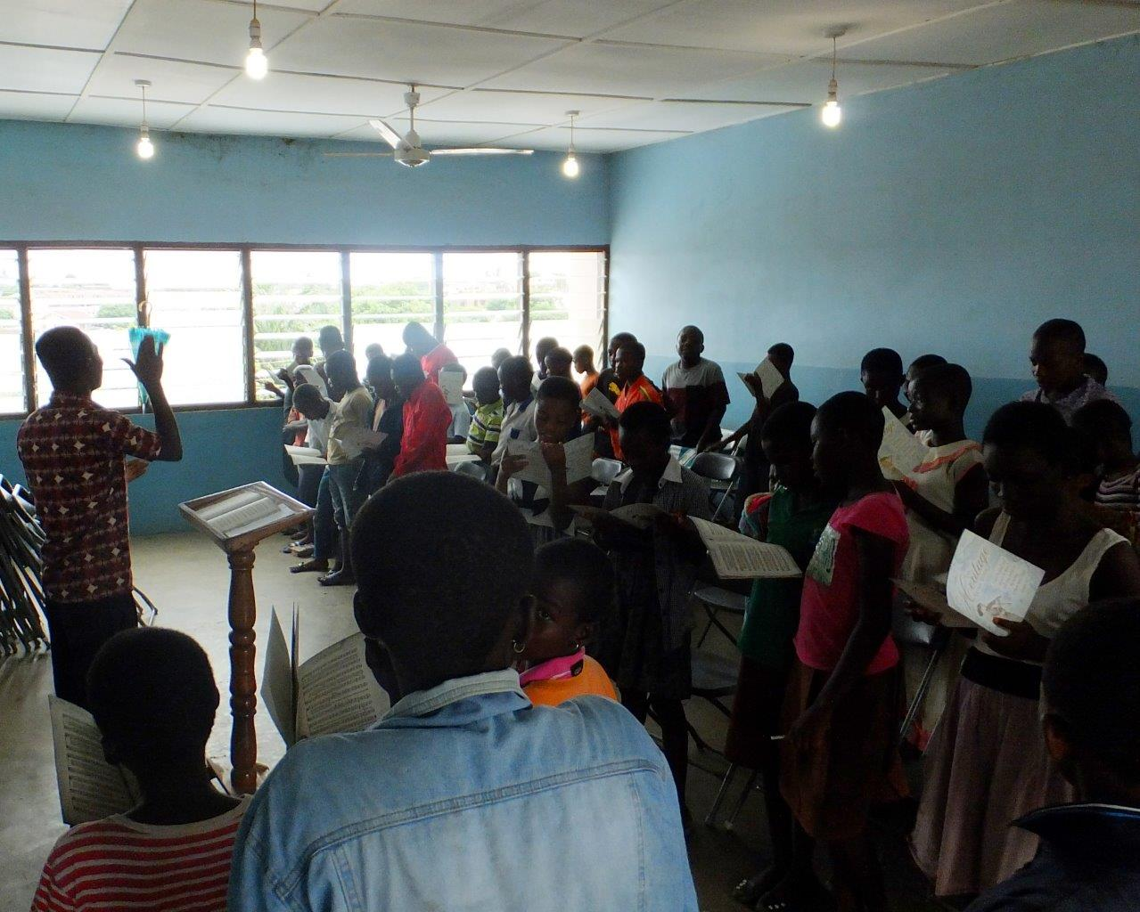 Bible Club Opening Assembly