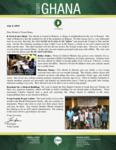 Team Ghana Update: Bible Club Ministry Started