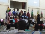 """FBA Students Singing """"In the Service of the King"""""""