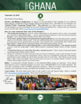 Team Ghana Update:  Annual Pastors' Conference