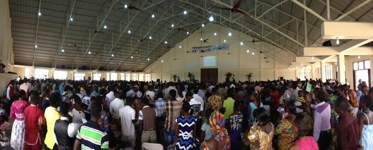 Main Auditorium Filled on Friend Day at FBCI Kumasi