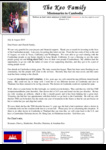 Kounaro Keo Prayer Letter:  Praising the Lord for the Blessings of Furlough