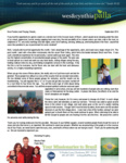 Wes Palla Prayer Letter:  A Week in the Amazon Jungle