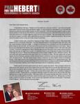Brian Hebert Prayer Letter:  Only God Could Do That!