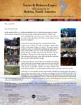Xavier Lopez Prayer Letter:  Great Teen Camp!