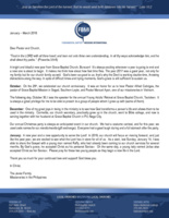 Parish Javier Prayer Letter:  A New Year--A New Opportunity to Serve the Lord!