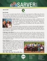 Mike Sarver Prayer Letter: Another Sarver? Keep Reading!