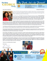 Brian George Prayer Letter:  Mrs. Ruth Owens' Passing and New Prison Ministry Started at Local Prison