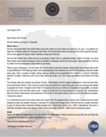 Montana Morrow Prayer Letter: What an Awesome God!