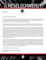 Brandon Heselschwerdt Prayer Letter: Confirmation of Our Field