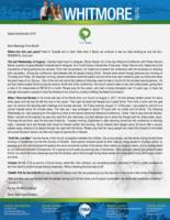 Dave Whitmore Prayer Letter:  More Blessings From Brazil!