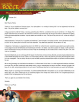 Walter Poole Prayer Letter:  Your Participation Is Bearing Fruit!