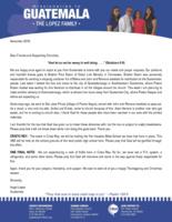 Angel Lopez Prayer Letter: Thankful for Bibles!