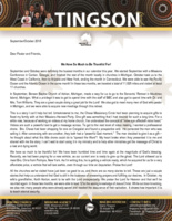 Garry Tingson Prayer Letter:  We Have Much to Be Thankful For!