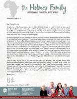 Mark Holmes Prayer Letter: Continued Nigeria Works and Furlough Travels