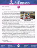 Scott Christiansen Prayer Letter:  Godly Graduates