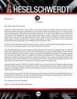 Brandon Heselschwerdt Prayer Letter: Busy for God!