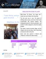 John Hays Prayer Letter:  Treated Water in Laos
