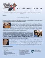 Go Oishi Prayer Letter:  From Ontario, Canada, to Ontario, California