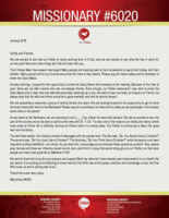 Missionary #6020 Prayer Letter: God Is Working Here!