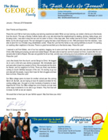 Brian George Prayer Letter:  Soul-Winning Visits and Bible College Goals!