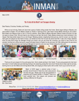 """Chad Inman Prayer Letter: """"Go Ye Into All the World"""" and Teenagers Growing"""