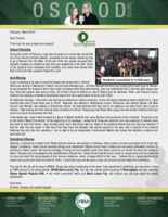 Charles Osgood Prayer Letter:  Opportunities to Preach in Ghana and Sierra Leone