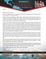 Israel Alvarez Prayer Letter:  Soul-Winning Campaign