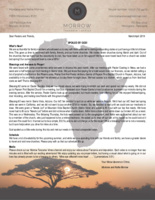 Montana Morrow Prayer Letter: Spoiled by God!