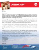 Ricardo Leyva Prayer Letter:  Love for the People of Cuba