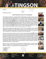 Garry Tingson Prayer Letter: A Quarter of Our Target Support!