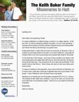 Keith Baker Prayer Letter: Soul-Winning Seminar
