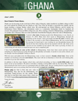 Team Ghana Update: Church Plant in Mamponteng