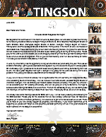 Garry Tingson Prayer Letter:  We Had a Great Response That Night!