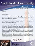 Luis Martinez Prayer Letter: Friend Day